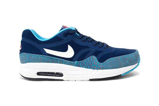 huge discount 34242 5b5b5 ... Blue Summit White-Black. Having premiered the lighter, more streamlined Nike  Air Max 1 PRM Tape model just two weeks ago