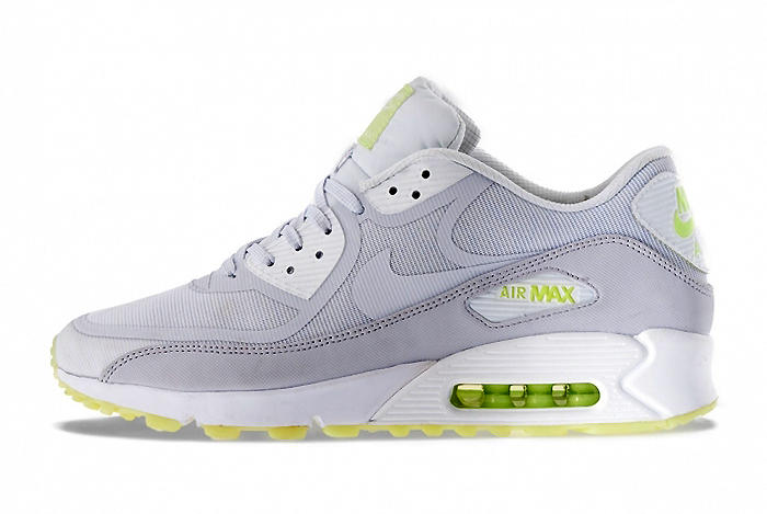 """another chance fda88 e62a8 Fresh from Nike is the Air Max 90 in a subtle """"glow in the dark"""" colorway.  The shoe sports a"""