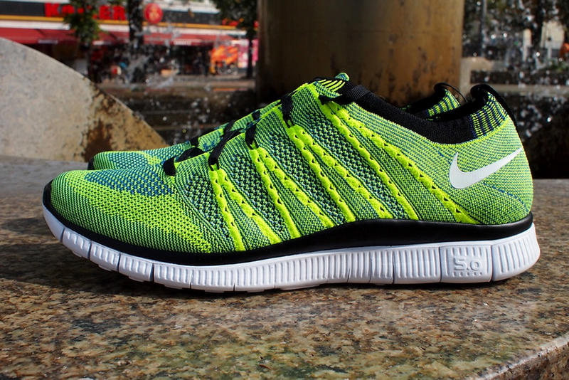 Extending their hand at reworking the Nike Free Flyknit silhouette to a  fresh three-colorway 1cc059b8b