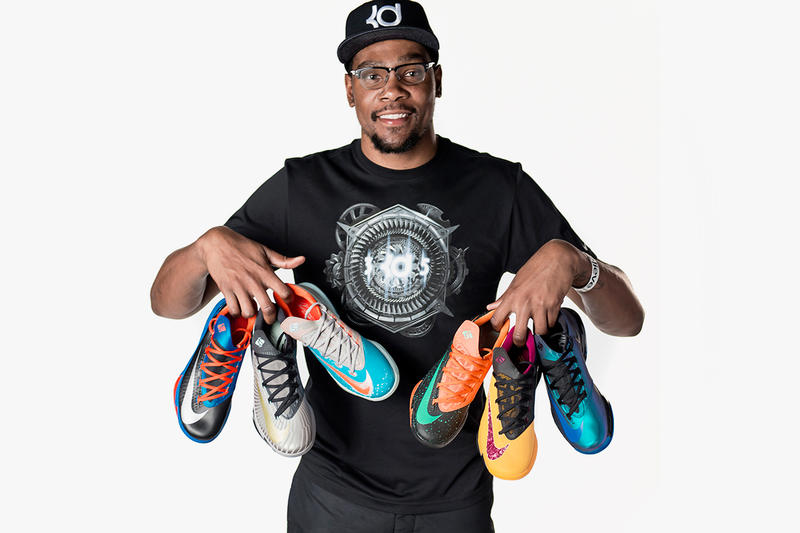 Nike & Kevin Durant Offer a Sneak Peek at Upcoming Colorways of the KD VI