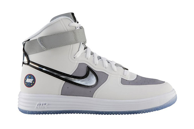 new style e85ab 553c5 Nike Lunar Force 1 High WOW QS White Metallic Silver