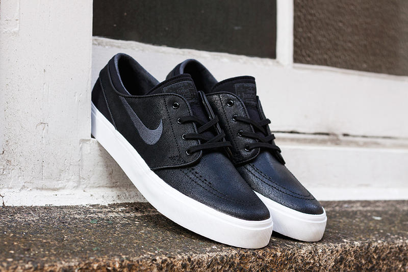 finest selection 513ee 471d1 Nike SB Zoom Stefan Janoski L Black Anthracite. Just in time for Fall 2013  comes a new rendition of the ever-popular Nike SB Janoski. This version