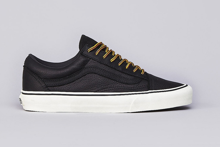 e4d71409ea Vans California Old Skool Reissue Black Leather