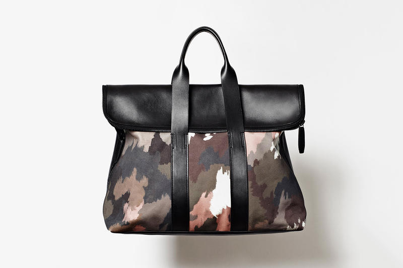 3 1 Phillip Lim Men S 31 Hour Bag Dark Camo Fresh Off The Frenzy That Followed Release Of His Aned Collaborative Line With Target