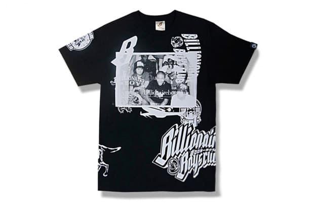 "Billionaire Boys Club 10th Anniversary ""Collage"" T-Shirt"