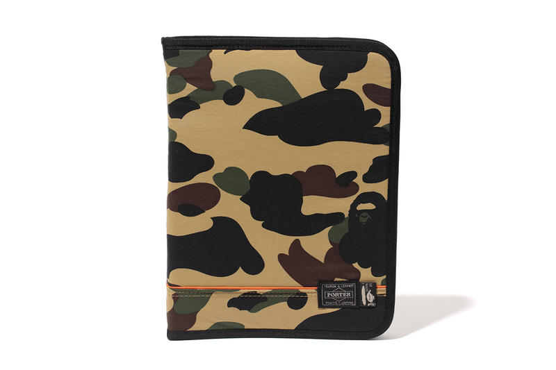 65299dcd0bdf A Bathing Ape x Porter 2013 Fall Winter 1ST CAMO Capsule Collection ...
