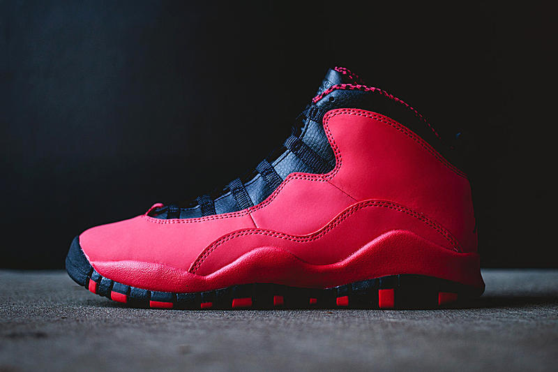 detailed look af321 edcdb Air Jordan 10 Retro GS Fusion Red Black. It s not often that the ladies get  heat when it comes to Jordan Brand releases but this season they