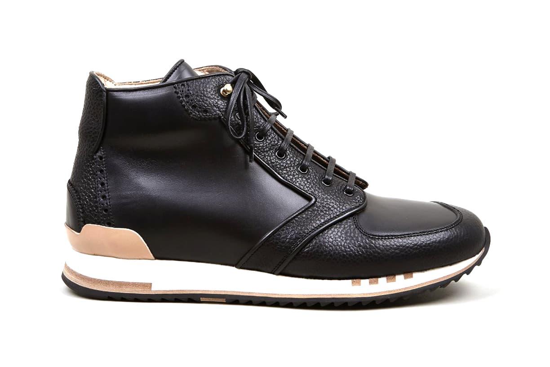 Alexander McQueen Black Hightop Sneakers