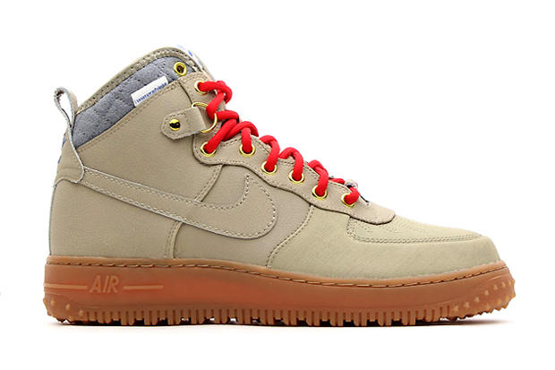 "promo code 406cc f52e0 ... Previewed earlier with the unveiling of the Nike ""Sneakerboot""  collection, the Air Force Nike Air Force 1 Duckboot ..."