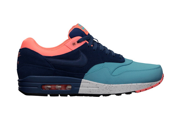 new arrival b15f7 af8b7 Nike Air Max 1 PRM Gamma Blue Brave Blue Atomic Pink