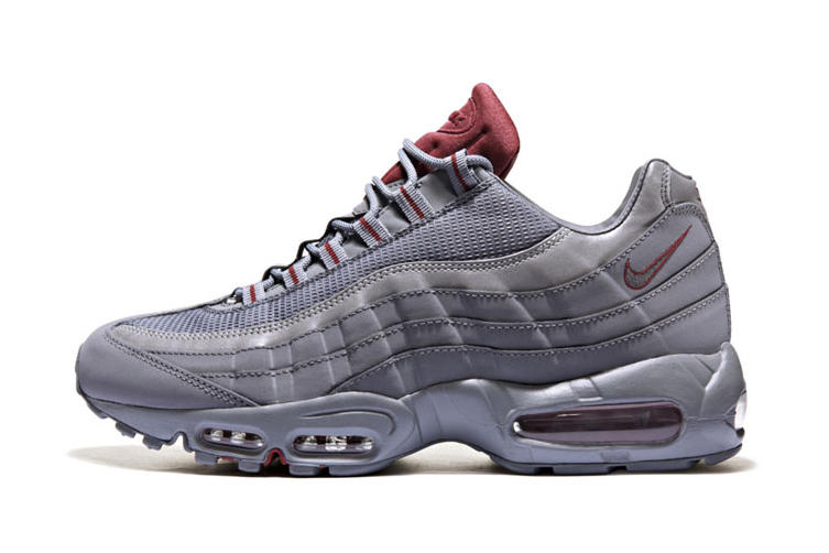 Nike Air Max 95 Cool Grey/Team Red JD Sports Exclusive