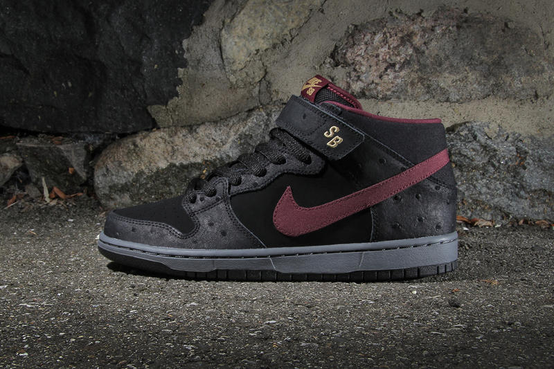 buy popular 60bad ccca9 The taller, strapped brother of Nike SB s Dunk silhouette gets a dark new  makeover for the month.