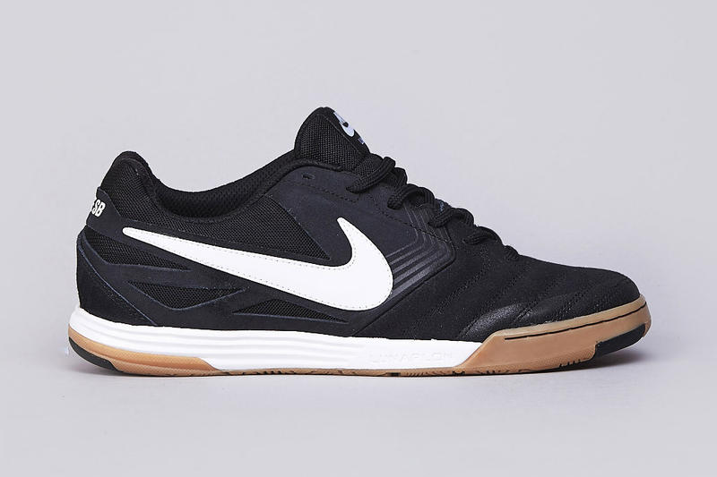 9839761771 Nike SB Lunar Gato Black White-Gum Medium Brown
