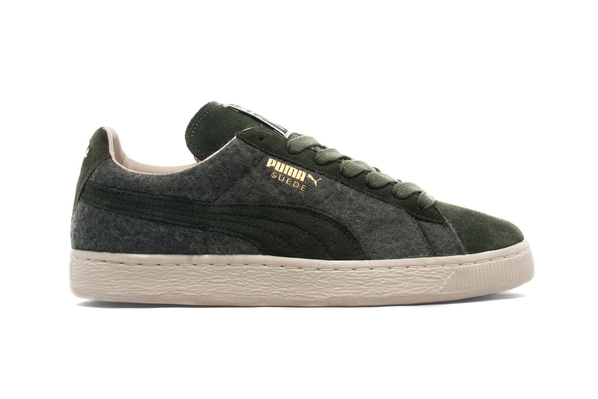 the best attitude 7534a a636c PUMA 2013 Holiday Suede Wool Forest | HYPEBEAST