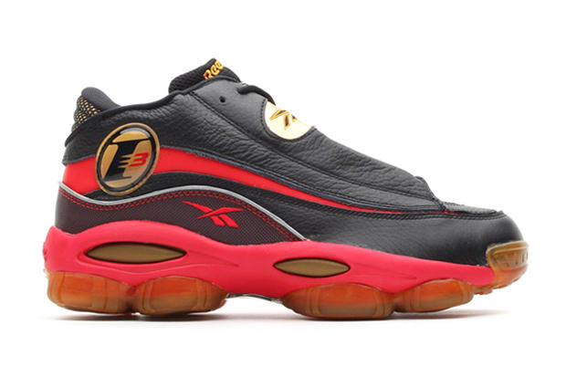 Hitting retailers soon is Allen Iverson s Reebok Answer DMX 10 in the OG  black red gold colorway. bbcd7a57c