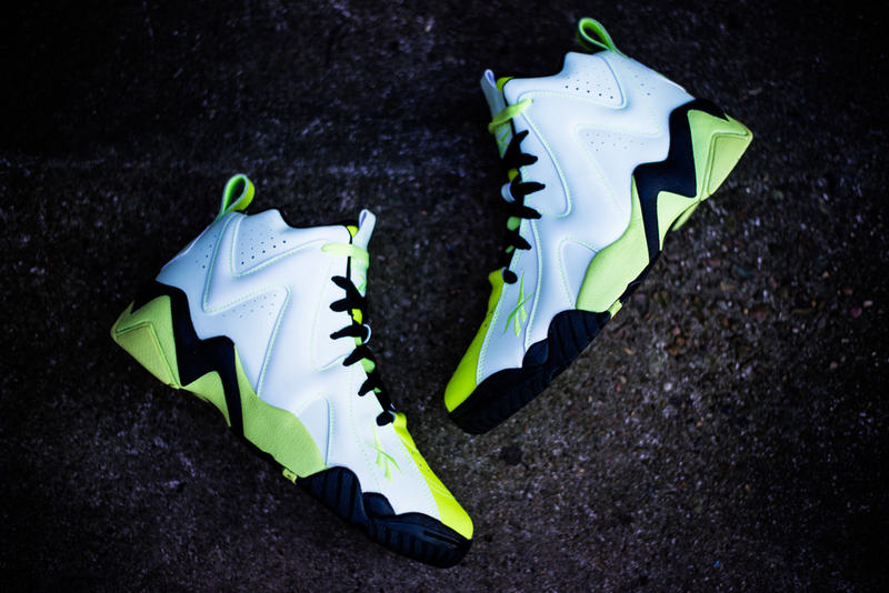 Reebok Kamikaze II Mid - Glow In the Dark  c28d79e8e