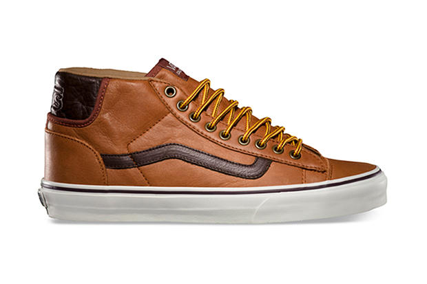 c5fc53e206 Vans California 2013 Fall Mid Skool 77 CA Pebble Leather Pack ...
