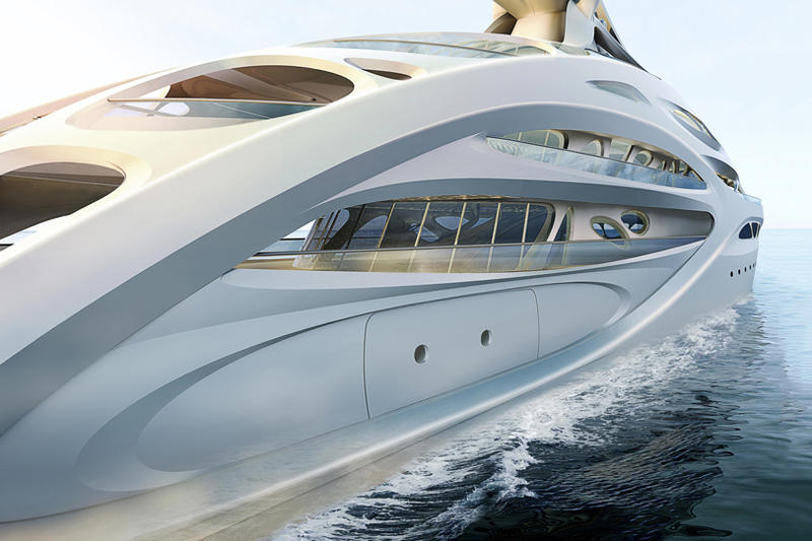 Zaha Hadid Superyachts for Blohm + Voss