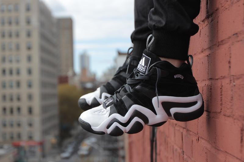 info for 1ada6 4d0cd adidas Crazy 8 Brooklyn Edition. Paying homage to the Nets and the city  they call home, adidas presents a special Brooklyn-inspired