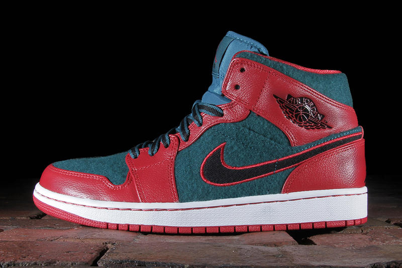 new concept 96c81 8e6bd Air Jordan 1 Mid Gym Red/Black-Dark Sea. Delivering new models one after  another for the holiday season, the Jordan Brand recreates its