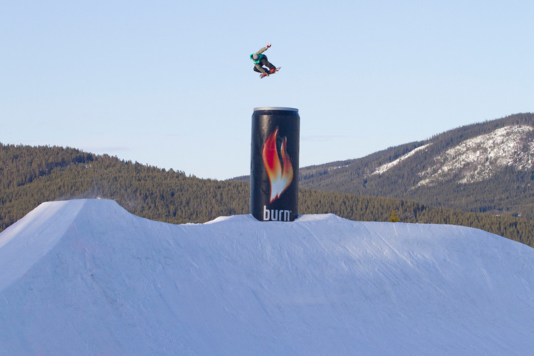 60951f7c719a burn s YouTube Channel Highlights the Official Energy Drink of the Sochi  Winter Olympic Games and Its