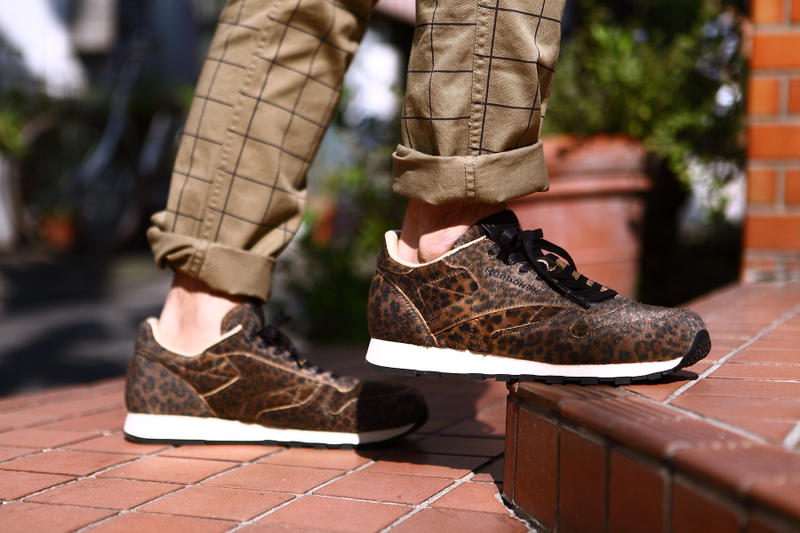 cce17675d9 Head Porter Plus Leaves its MOMBASA Print on the Reebok Classic ...