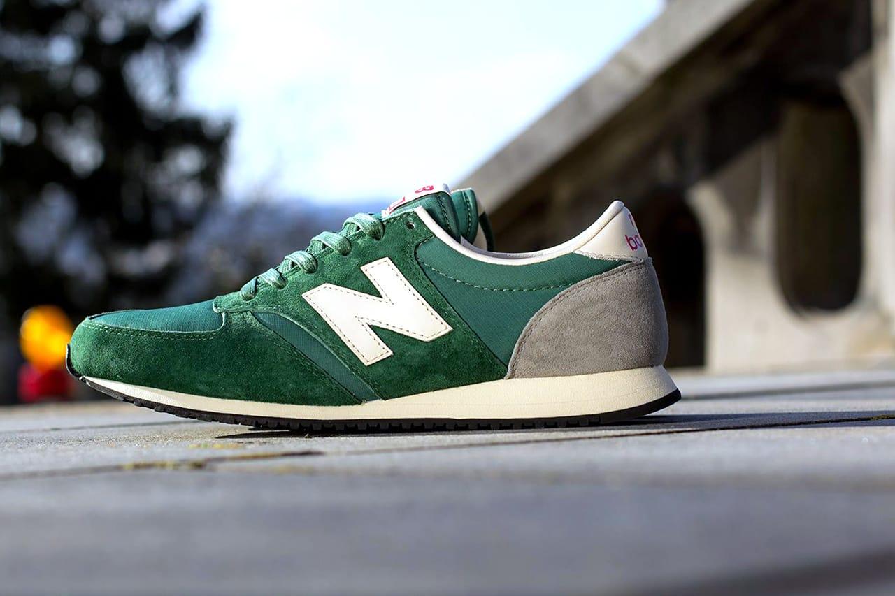 New Balance 420 Green/Grey   HYPEBEAST