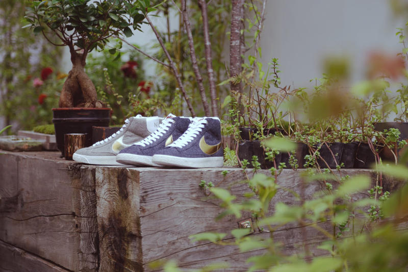 buy popular 1a2f6 470b9 After showing you an early look at the granitesilverwhite colorway of the  BEAMS x Nike Blazer
