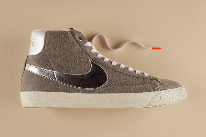 innovative design ab392 f1078 BEAMS x Nike Blazer Mid Vintage QS GraniteSilverWhite