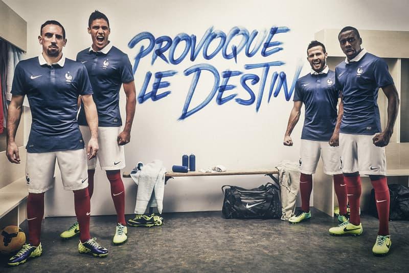 on sale 62743 ed37e Nike Unveils France's 2014 Football Kit | HYPEBEAST
