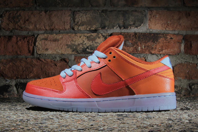 "official photos 13964 cb998 Appropriately nicknamed ""Fire   Ice,"" Nike SB presents a bold Gamma  Orange Urban Orange-Challenge"