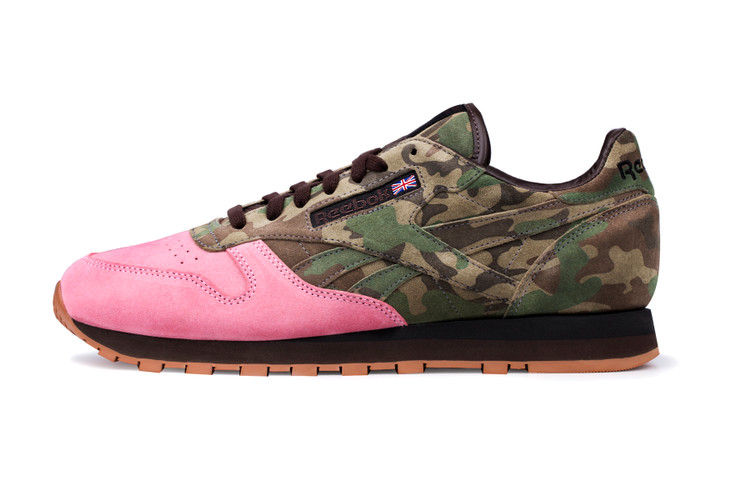 """691bf476129 Shoe Gallery x Reebok Classic Leather 30th Anniversary """"Flamingoes at War"""""""