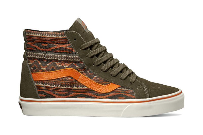 "e44825a096 Vans California presents the ""Suede   Woven Textiles"" Collection for the  2013 holiday season."