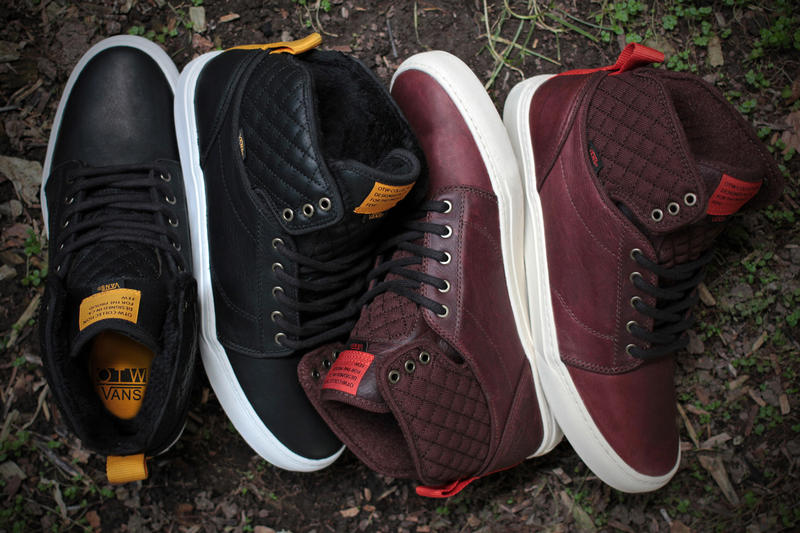 4b1b18a83d The Vans OTW collection introduces a seasonally apropos edition of its  Alomar for Holiday 2013 with