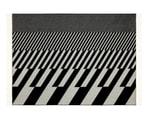 Vitra Jacquard Print Woven Merino Blankets with Eames & Gerard Prints