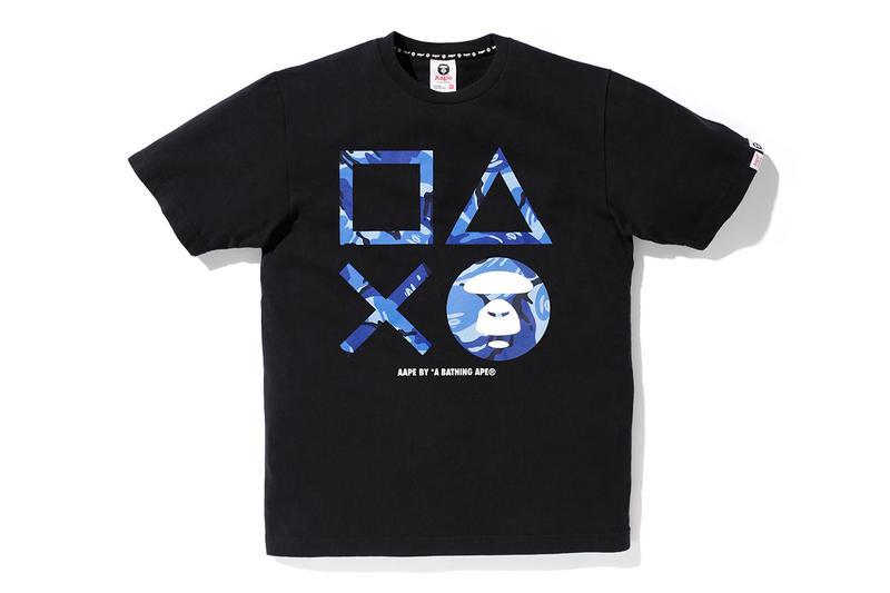 57510e6e85d AAPE by A Bathing Ape x PlayStation 4 2013 Capsule Collection ...