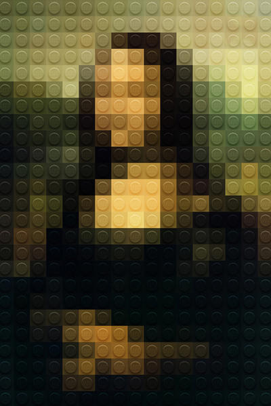 Marco Sodano Pixilates Classic Masterpieces Using LEGO