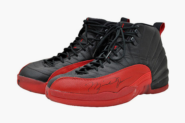 "reputable site 363aa e68c2 Last month we told you about Michael Jordan s infamous ""Flu Game"" Air  Jordan 12s being put up for"