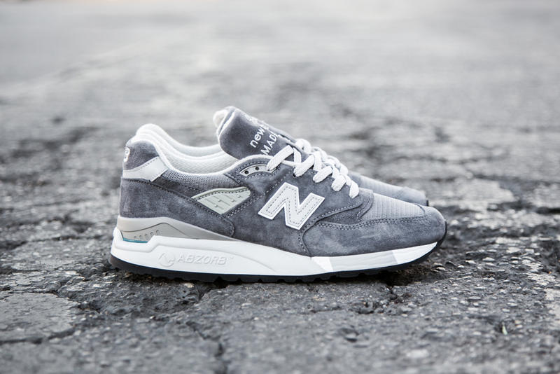 save off 51dfc 3e3fb New Balance Made in USA M998 Grey | HYPEBEAST