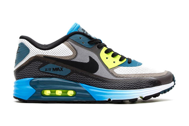 uk availability c9c98 dc1b7 ... Light Grey/Black/Vivid Blue-Volt. Hot on the heels of the preview of  the Nike Air Max Lunar90, we've got a look at the shoe in this