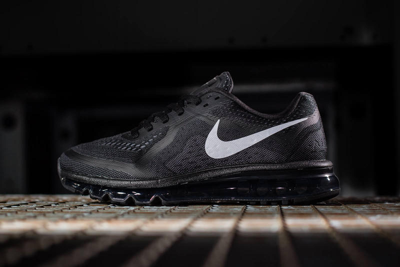 purchase cheap 9a961 16393 Nike Air Max 2014 Black Reflective Silver. A welcome respite from some of  the brighter colorways we ve seen, Nike presents this