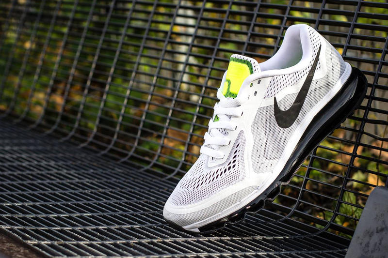new product 54384 6d628 Nike Air Max 2014 White Black-Pure Platinum-Volt