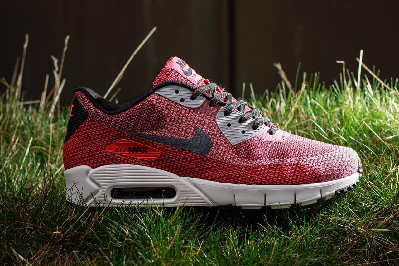 Nike Air Max 90 Current Jacquard Laser Crimson/Dark Grey