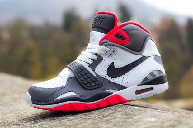 Oportuno Examinar detenidamente Comprimir  Nike Air Trainer SC II Pure Platinum/Dark Grey-Crimson   HYPEBEAST