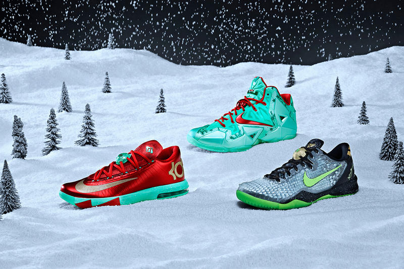 f8a2db484d2 This holiday season, Nike Basketball celebrates the NBA's annual Christmas  Day slate with a trio of