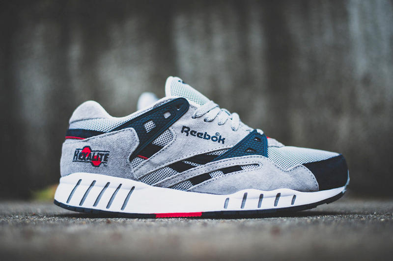Reebok presents a new colorway for its  90s re-release  the Sole Trainer.  The pair features a grey 7c72aaf4be41