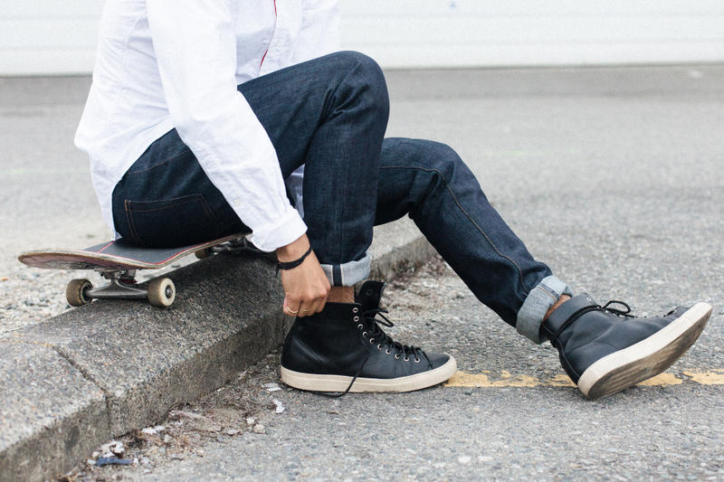 Second Narrow Launches with Japanese-Made, Water-Resistant Denim