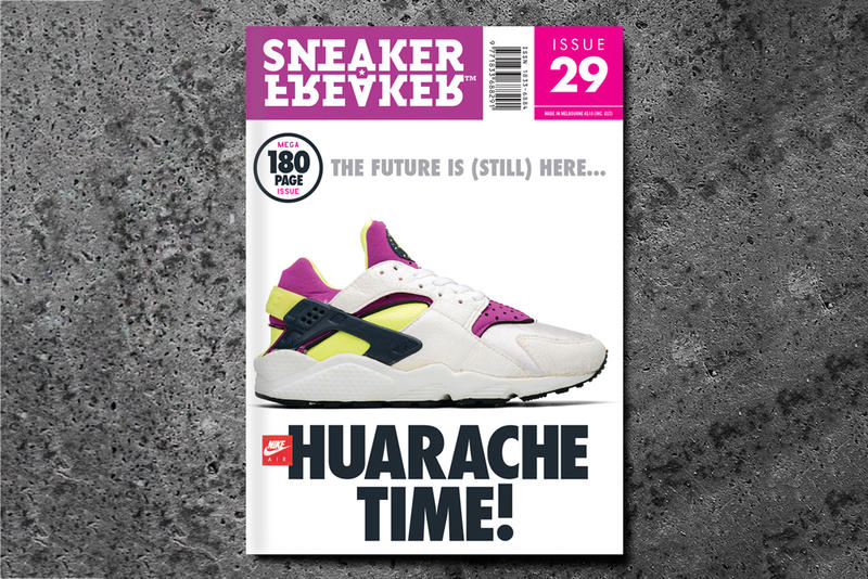 00154b6f1379f Sneaker Freaker Issue 29 Huarache Time! Preview