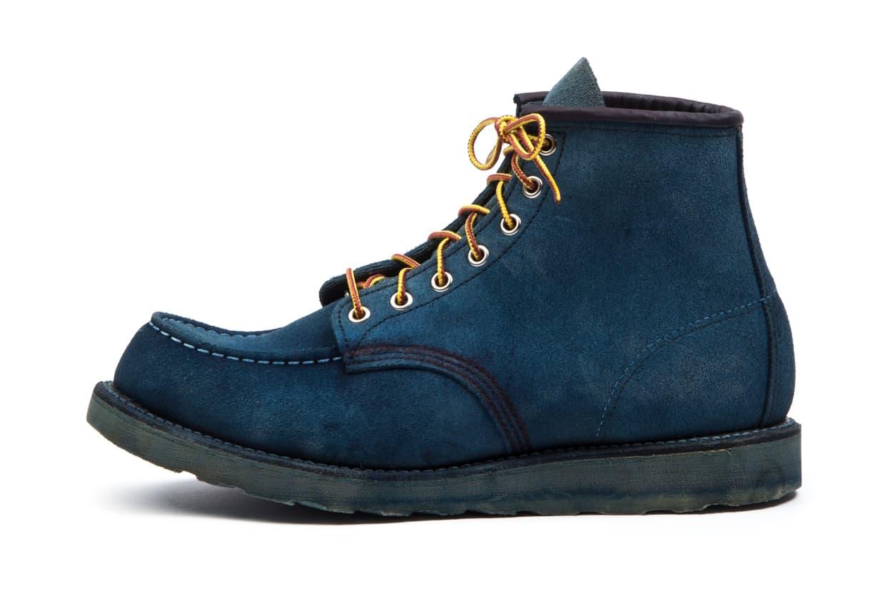 Tenue de Nimes x Red Wing Natural Indigo Boots