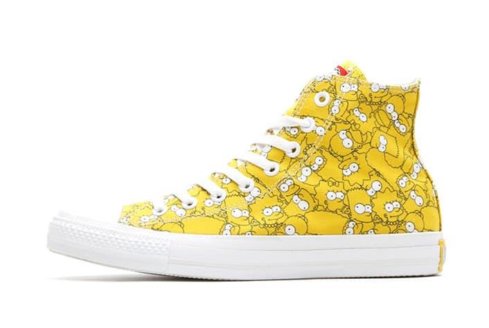 a9b318177cf The Simpsons x Converse 2014 Spring Chuck Taylor All Star Hi